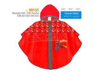 Marvel Spiderman EVA raincoat Perletti