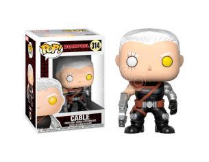 Pop Figura Arvel Deadpool Cable Funko