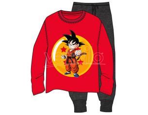 Dragon Ball Z Pigiama con Goku da Adulto Taglia L Toei Animation