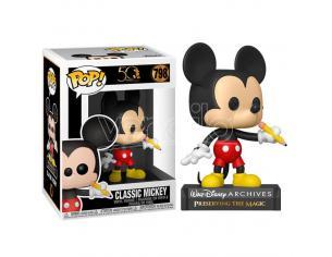 Mickey Mouse Disney Funko POP Archives Vinile Figura Topolino Classico 9 cm