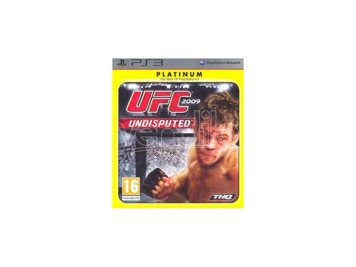 UFC UNDISPUTED 2009 PLATINUM SPORTIVO - OLD GEN