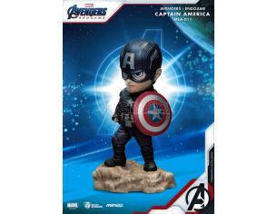 Avengers: Endgame Mini Uova Attack Figura Capitan America 7 Cm Beast Kingdom