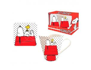 Peanuts mug + coaster set Coriex