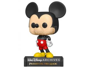 Mickey Mouse Disney Funko POP 50th Anniverasio Vinile Figura Topolino 9 cm