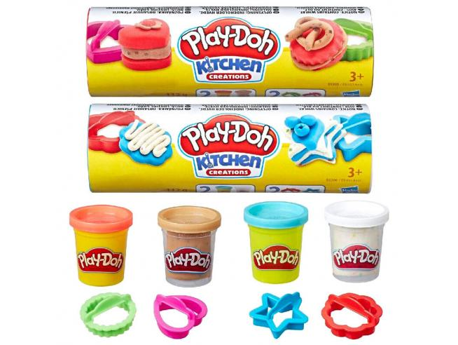 Play-Doh Pongo per Creazioni Biscotti in Cucina Modelli Assortiti Play-doh