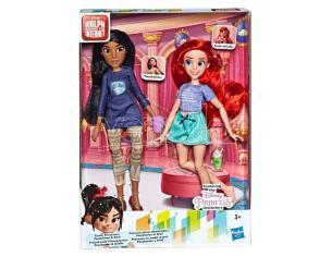 Disney Raph Breaks the Internet Ariel + Pocahontas set 2 dolls Hasbro