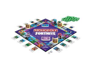 Monopoly Fortnite Spanish game Hasbro