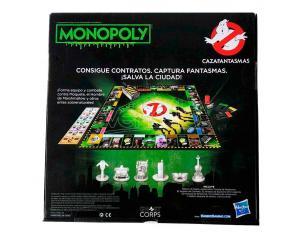 Ghostbustoers Spagnolo Monopoly Game Hasbro