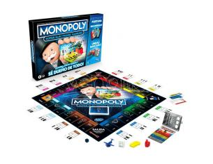 Super Electronic Banking Spagnolo Monopoly Game Hasbro