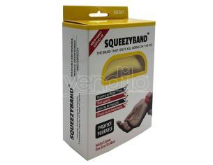 Yellow Adjustable Gel Dispenser Adulto Braccialetto Squeezyband
