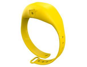 Yellow Adjustable Gel Dispenser Children Bracelet Squeezyband