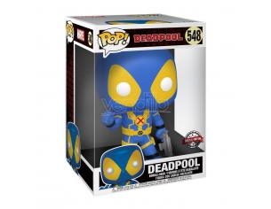 Deadpool Funko POP Film Vinile Figura Deadpool Blu Pollice in alto 25 cm