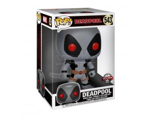 Deadpool Funko POP Film Vinile Figura Deadpool Grigio con due Spade 25 cm