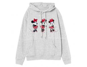 Disney Minnie Adulto Felpa Con Cappuccio Disney