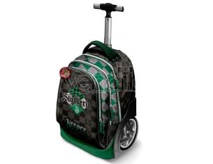 Harry Potter Trolley Zaino Quidditch Serpeverde 50 x 30 x 20 cm Katacter Mania