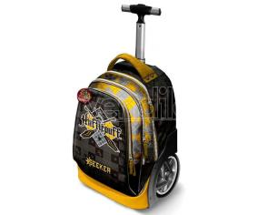 Harry Potter Trolley Zaino Quidditch Tassorosso 50 x 30 x 20 cm Katacter Mania