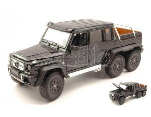 Welly WE4061BK MERCEDES AMG G63 6x6 2014 BLACK 1:24 Modellino