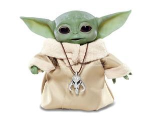 Star Wars Animatronic Figura Baby Yoda The Child Elettronico 25 cm Hasbro