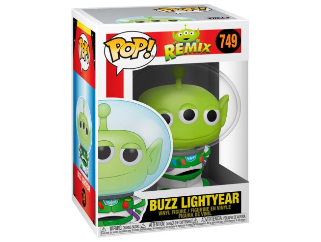 Pop Figura Disney Pixar Alien As Buzz Funko