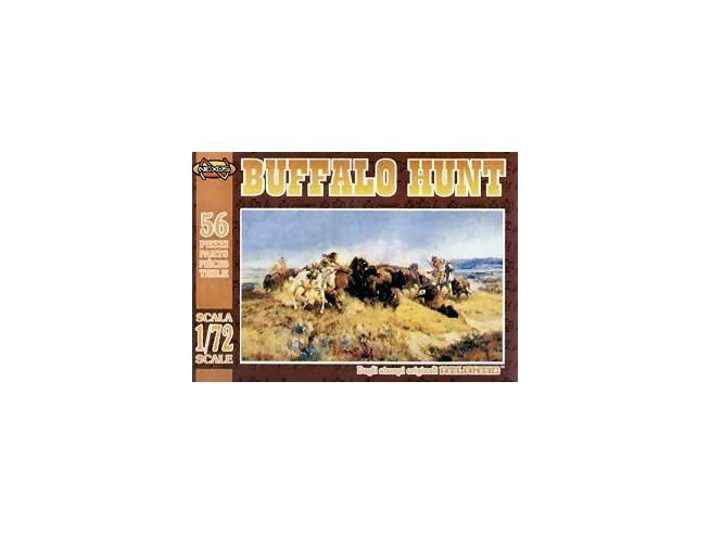 Atlantic Atl017 Buffalo Hunt Kit 1:72 Kit Figura Militari
