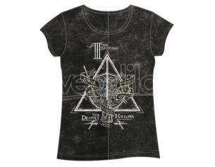 Harry Potter Doni Della Morte Woman Adulto T-shirt Warner Bros.
