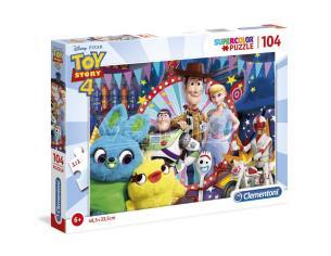 Toy Story 4 Disney Puzzle Woody e i suoi Amici 104 Pezzi 48,5x33,5cm Clementoni