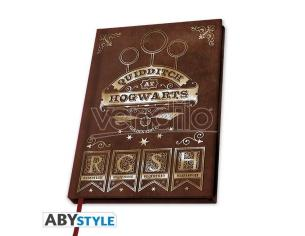 Harry Potter Taccuino Agenda A5 Quidditch 21 X 15 Cm Abystyle