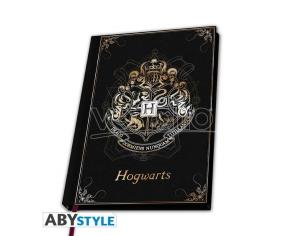 Harry Potter Taccuino Agenda A5 Premium Stemma Hogwarts 21 X 15 Cm Abystyle