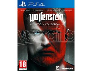 WOLFENSTEIN ALTERNATIVE HISTORY COLLECT. SPARATUTTO - PLAYSTATION 4