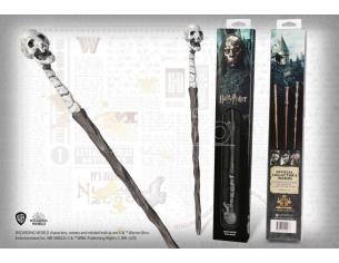 Harry Potter Bacchetta Magica dei Mangiamorte Skull in Blister Noble Collection