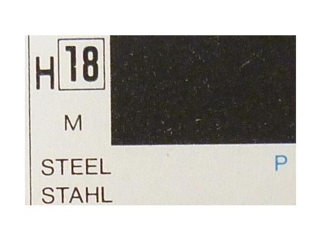 Gunze GU0018 STEEL METALLIC ml 10 Pz.6 Modellino