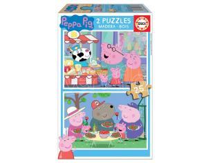 Peppa Pig puzzle 2x25pcs Educa Borras