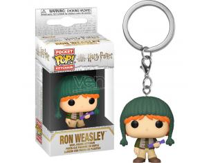 Pocket Pop Portachiavi Harry Potter Holiday Ron Funko