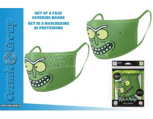 RICK&MORTY PICKLE FACE COVER.MASK SET(2) MASCHERA PYRAMID INTERNATIONAL