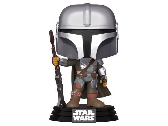 Star Wars Mandalorian Funko POP Vinile Figura Il Mandaloriano 9 cm