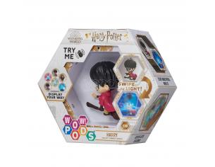 Harry Potter Wow! Pods Figura Harry con Scopa Quidditch con Illuminazione 6 cm
