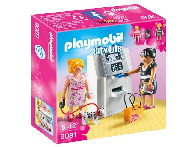 PLAYMOBIL BANCOMAT CITY LIFE - COSTRUZIONI