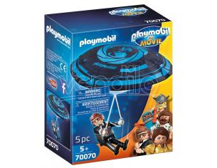 PLAYMOBIL: THE MOVIE REX D. PARACADUTE PLAYMOBIL - COSTRUZIONI