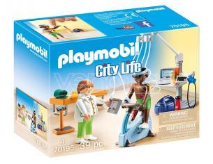 PLAYMOBIL FISIOTERAPISTA CITY LIFE - COSTRUZIONI