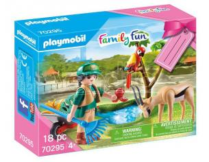 Playmobil Regalo Set Zoo Family Fun - Costruzioni
