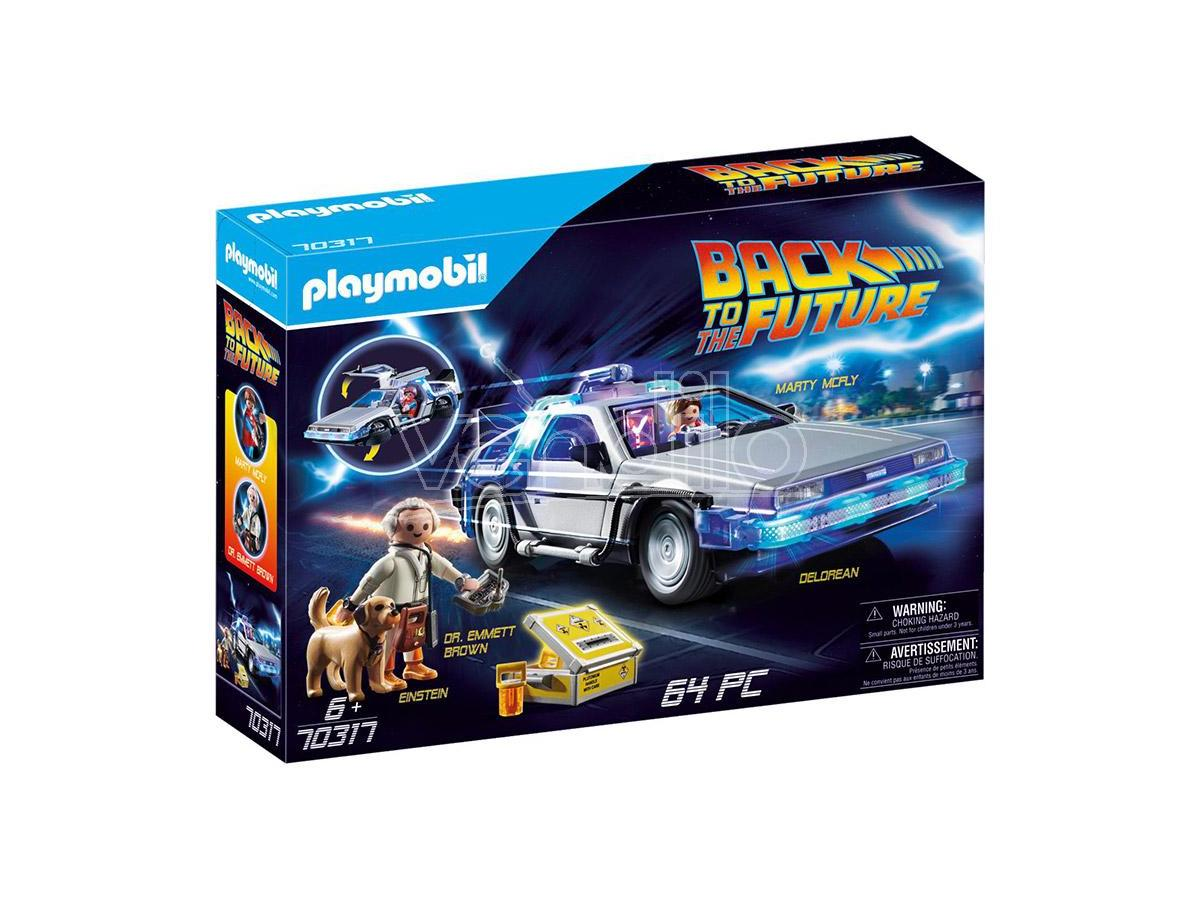 Playmobil Ritorno Al Futuro Delorean Ritorno Al Futuro - Costruzioni