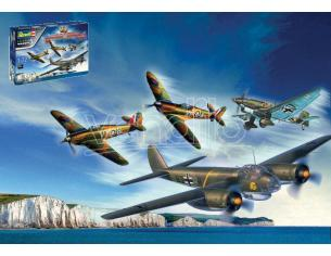 Revell Rv05691 80th Anniversary Battle Of Britain Regalo Set Kit 1:72 Modellino