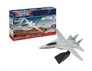 REVELL RV64966 MAVERICK'S F-14 TOMCAT TOP GUN MODEL SET KIT 1:72 Modellino