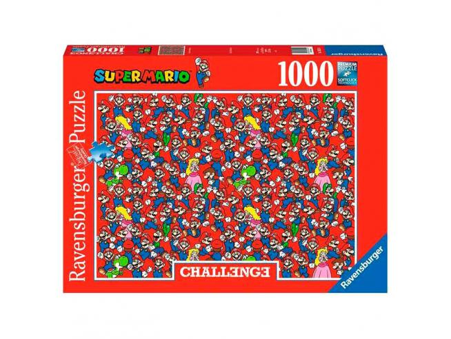 Nintendo Super Mario Challenge puzzle 1000pcs Ravensburger