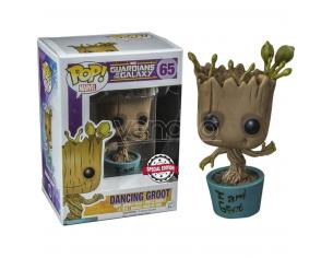 Pop Figura Marvel Guardians Of The Galaxy Dancing I Am Groot Esclusiva Funko