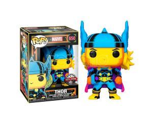 Marvel Black Light Funko POP Super Eroi Vinile Figura Thor 9 cm