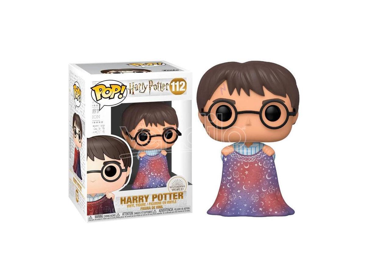 Harry Potter Funko POP Vinile Figura Harry Con Mantello Dell'Invisibilità 9 cm