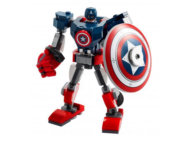 LEGO MARVEL AVENGERS 76168 - ARMATURA MECH DI CAPITAN AMERICA