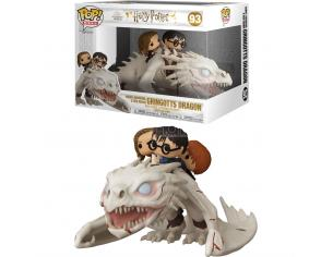 Harry Potter Funko Pop Viniel Figura Drago con Harry, Ron e Hermione 15cm