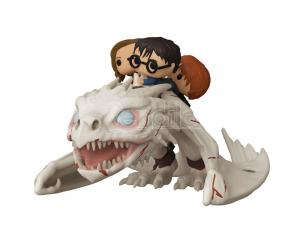 Harry Potter Funko Pop Film Vinile Figura Drago con Harry, Ron e Hermione 15cm
